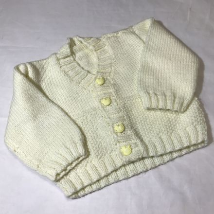 Newborn Lemon Cardigan